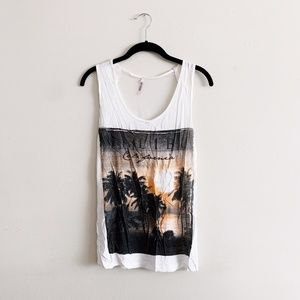 eye candy Malibu California Tank Top